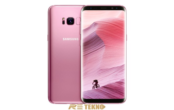 Galaxy S8 Rose Pink