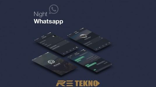 WhatsApp Gece Modu